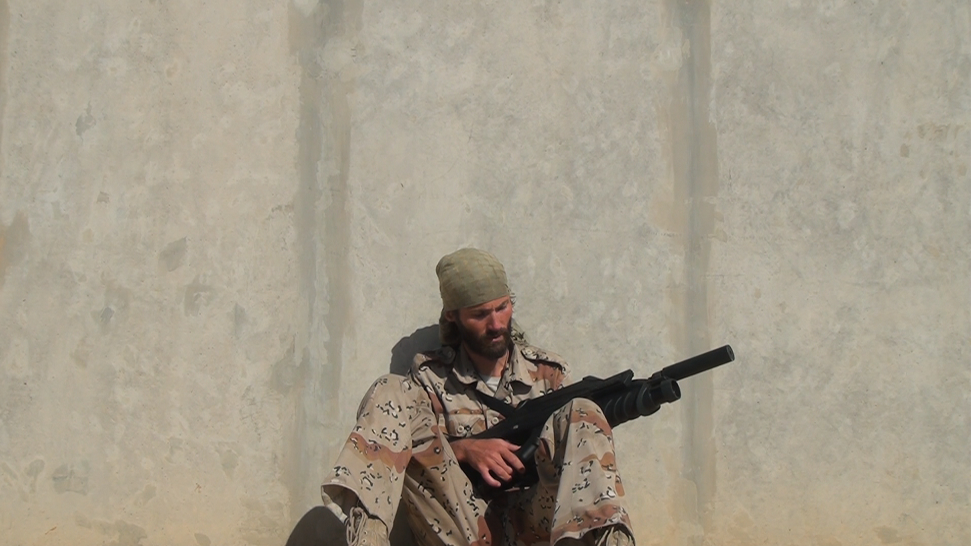 American seeks private funds to give military training to Iraqi Christians